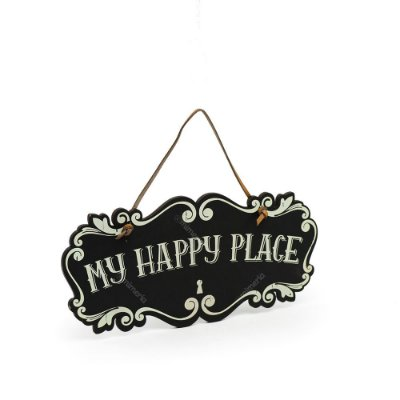 Placa de Porta My Happy Place