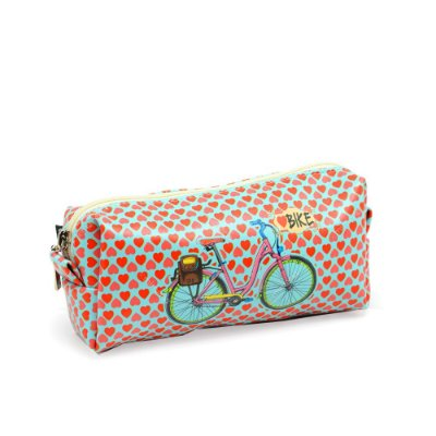 Estojo Estampado Love Bike