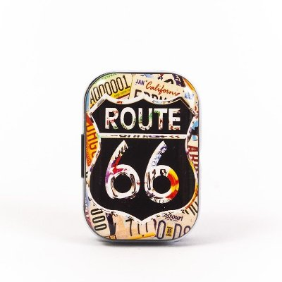 Lata Decorativa - Route 66