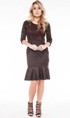FC9425 - Vestido Bell Mouth Fasciniu's