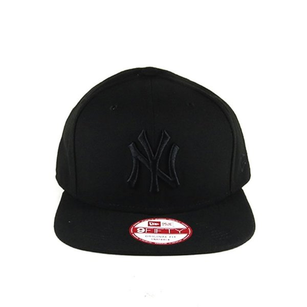 Boné Snapback New Era New York Yankees-Preto