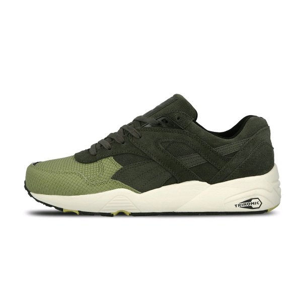 Tênis Puma Trianomic R698 Grid Q4-Forest Night