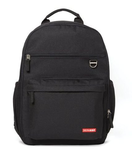 Bolsa de Maternidade Duo Backpack (Mochila) Heather Black Skip Hop