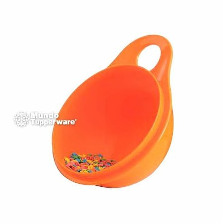 Tupperware Extra Mini Criativa Laranja 600ml Tigela Vasilha