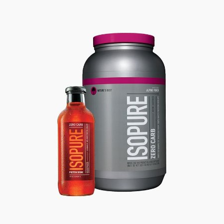 Isopure Protein Powder (3lbs) Grátis Isopure Drink  - Nature's Best (VENC.: 10/17)