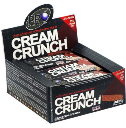 Cream Crunch Bar (12 barras) 40g - Probiótica
