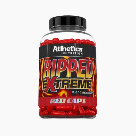 Ripped Extreme Red Caps (160caps) - Atlhetica Nutrition