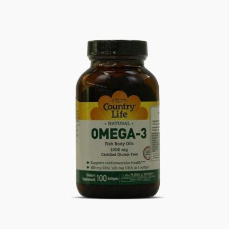 Omega-3 (50 softgels) - Country Life