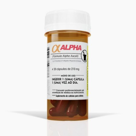 Alpha Axcell (30caps) - Power Supplements (VENC:07/2017)