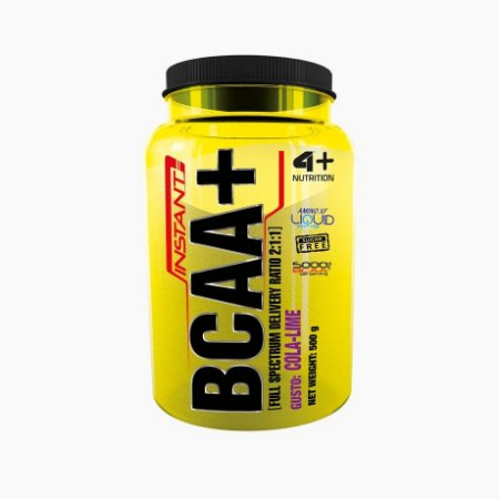 BCAA Instant 4+ 2:1:1 (500g) - 4 Plus Nutrition