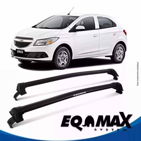 Rack Eqmax Onix 4 Pts New Wave preto