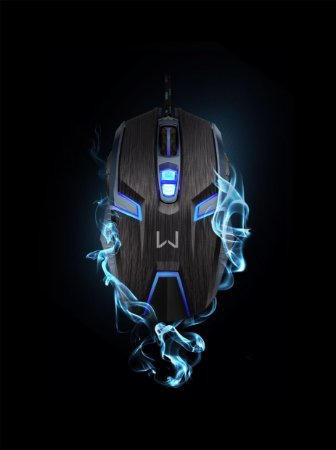 Mouse Gamer Ambidestro 4000 DPI . MO252 - Warrior