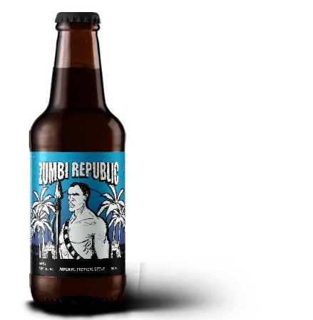 Cerveja Caatinga Rocks Zumbi Republic Imperial Tropical Stout - 330ml