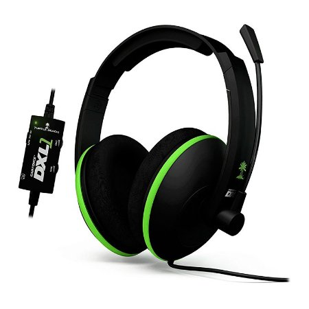 Headset Turtle Beach Ear Force DXL1 com fio - Xbox 360 e Xbox One