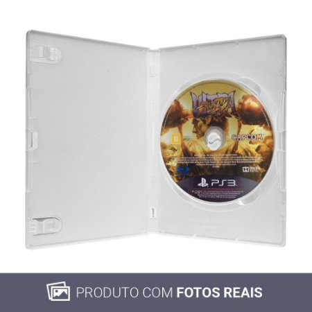 Jogo Ultra Street Fighter IV - PS3 (Sem Capa)