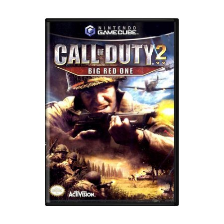 Jogo Call of Duty 2: Big Red One - GC