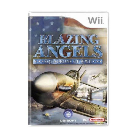 Jogo Blazing Angels: Squadrons of WWII - Wii