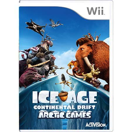Jogo Ice Age: Continental Drift - Wii