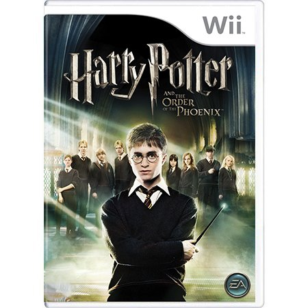 Jogo Harry Potter and the Order of the Phoenix - Wii