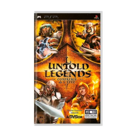 Jogo Untold Legends: Brotherhood of The Blade - PSP