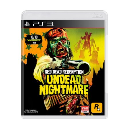 Jogo Red Dead Redemption: Undead Nightmare - PS3