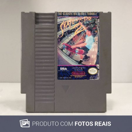 Jogo Skate or Die 2: The Search for Double Trouble- NES
