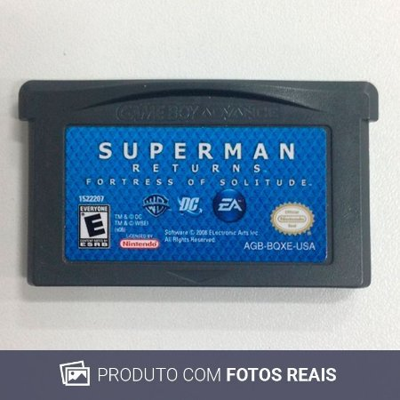Jogo Superman Returns: Fortress of Solitude - GBA