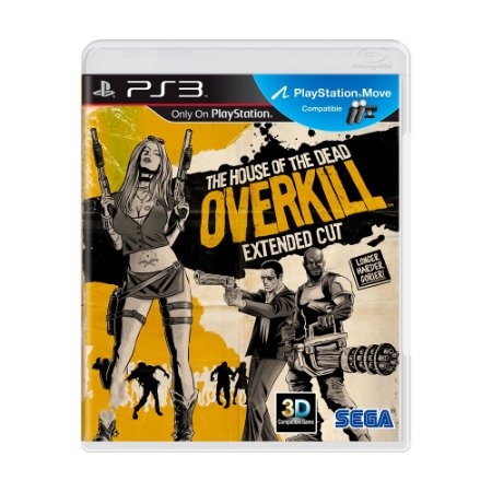Jogo The House of the Dead: Overkill Extended Cut - PS3