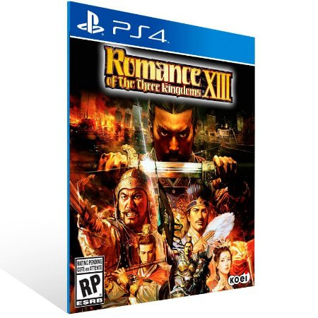 Romance Of The Three Kingdoms 13 - Ps4 Psn Mídia Digital