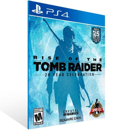 Rise Of The Tomb Raider: 20 Year Celebration - Ps4 Psn Mídia Digital
