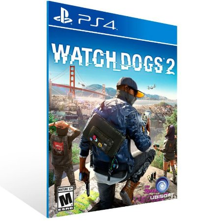 Watch Dogs 2 - Ps4 Psn Mídia Digital