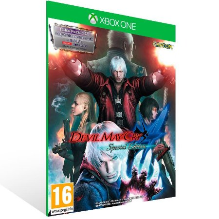 Devil May Cry 4 Special Edition - Xbox One Live Mídia Digital