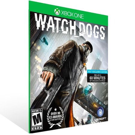 Watch Dogs - Xbox One Live Mídia Digital