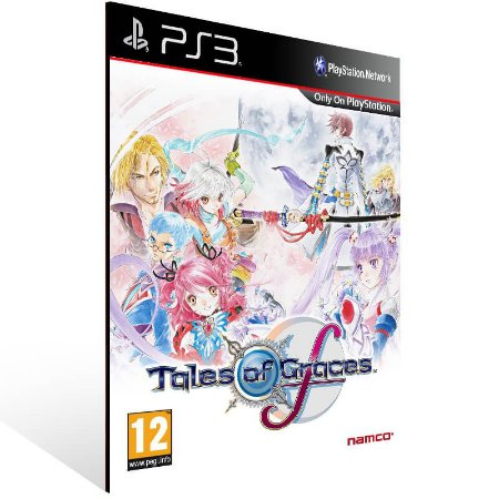Tales Of Graces F Knight Edition - Ps3 Psn Mídia Digital