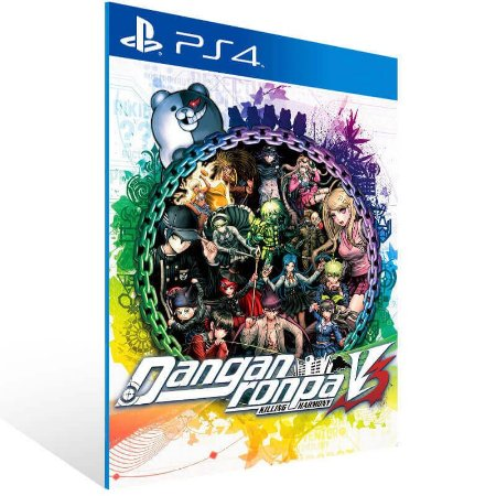 Danganronpa V3 Killing Harmony - Ps4 Psn Mídia Digital