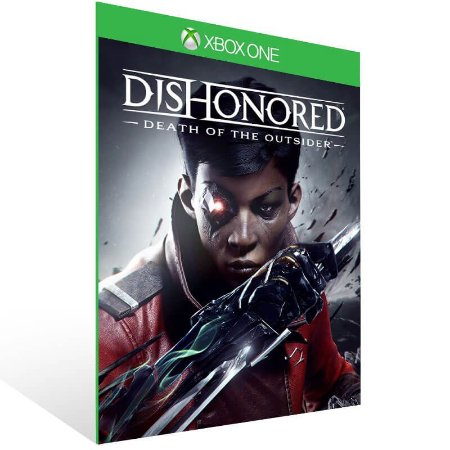Dishonored Death of the Outsider - Xbox One Live Mídia Digital