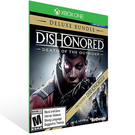 Dishonored Death of the Outsider Deluxe Bundle - Xbox One Live Mídia Digital