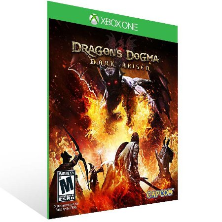 Dragons Dogma Dark Arisen - Xbox One Live Mídia Digital