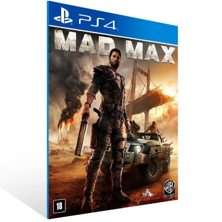 Mad Max - Ps4 Psn Mídia Digital