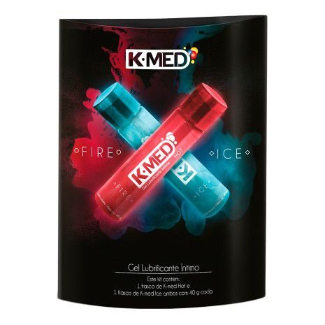 K-med Gel lubrificante intimo fire and ice 40g