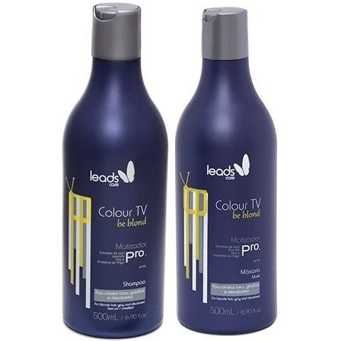 Leads Care Colour TV Be Blond Matizador (2x500ml)