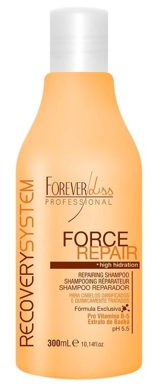 Forever Liss Force Repair Shampoo Reparador 300ml