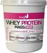 Máscara Whey protein Massa Mask Leads Care 400g