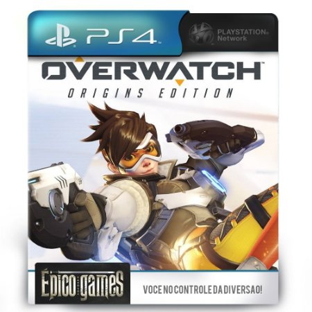 Overwatch Origins Edition - PS4 - Midia Digital