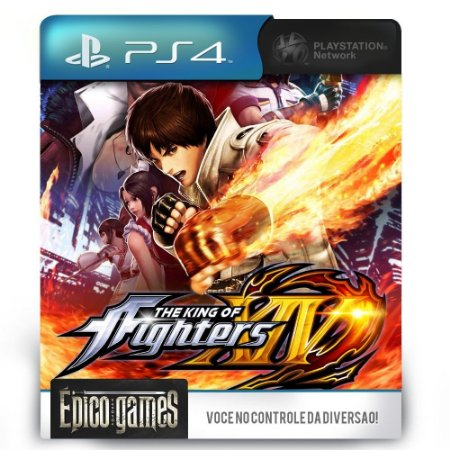 The King Of Fighters XIV - PS4 - Midia Digital