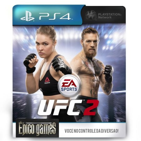 EA SPORTS UFC 2 - PS4 - Midia Digital