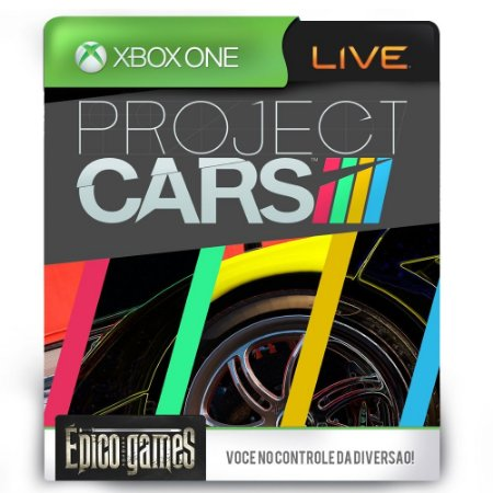 Project Cars - Xbox One - Midia Digital