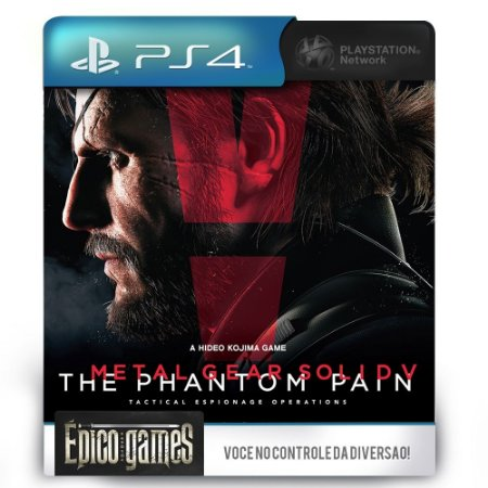 Metal Gear Solid V - The Phantom Pain - PS4 - Midia Digital