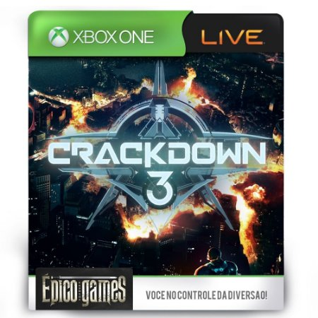 Crackdown 3 - Xbox One - Midia Digital
