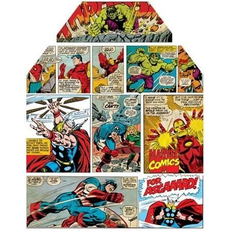 Avental HQ´s Cores MARVEL